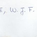 Clarke, W.J.F